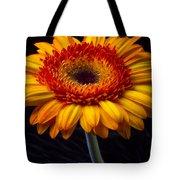 Orange Graphic Mum Tote Bag