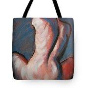 Orange Hair Tote Bag