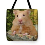 Orange Hamster Ha106 Tote Bag