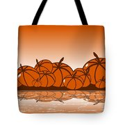 Orange Harvest Tote Bag
