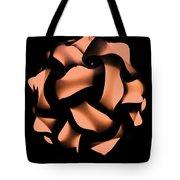 Orange Honeycomb Tote Bag