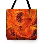 Orange Is In Tote Bag