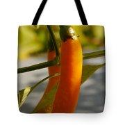 Orange Jalapeno Pepper  Tote Bag