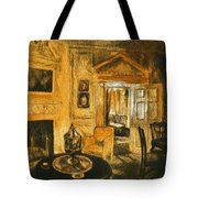 Orange Light At Mount Vernon Tote Bag