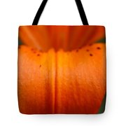 Orange Lily Tote Bag