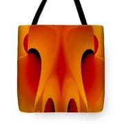 Orange Mask Tote Bag