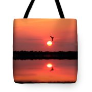 Orange Mood Tote Bag