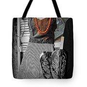 Vintage Orange Necklace Tote Bag