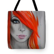 Orange Nectar Tote Bag