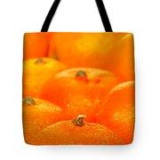 Orange Oranges Tote Bag