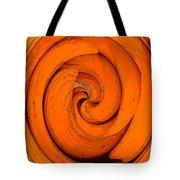 Orange Peal Tote Bag