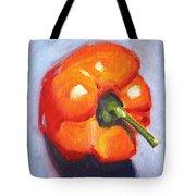 Orange Pepper Still Life Tote Bag