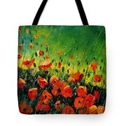 Orange Poppies  Tote Bag