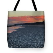 Orange Reflections Tote Bag