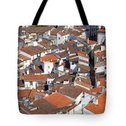 Orange Roofs Tote Bag