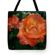 Orange Rose II Tote Bag