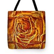 Orange Rose Tote Bag