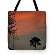 Orange Skies Tote Bag