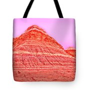 Orange Slice Mountain Tote Bag