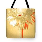 Orange Slice Zinnia Tote Bag