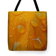 Orange Splash Tote Bag
