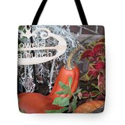 Orange Squash Tote Bag