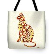 Orange Tabby - Animal Art Tote Bag by Anastasiya Malakhova