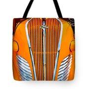 Orange Terraplane Tote Bag
