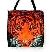 Orange Tiger Tote Bag