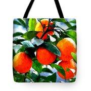 Orange Tree In Springtime  Tote Bag