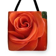 Orange Twist Rose 2 Tote Bag