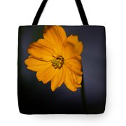 Orange Wild Flower Tote Bag