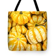 Orange Winter Squash On Display Tote Bag
