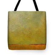 Orange With Red And Gold Tote Bag