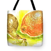 Oranges And Pears Tote Bag