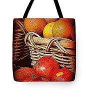 Oranges And Persimmons Tote Bag