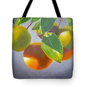 Oranges Tote Bag by Carey Chen