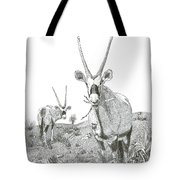 White Sands Orax  Tote Bag
