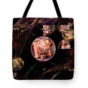 Orbs Of Infinity Tote Bag