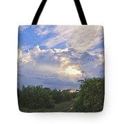 Orchard And Birds Tote Bag