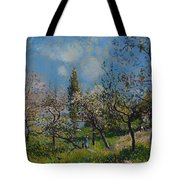 Orchard In Spring Tote Bag