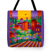 Orchard Villa Tote Bag
