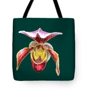 Orchid Alone Tote Bag