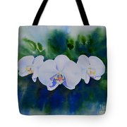 Orchid Blast Tote Bag