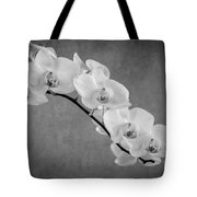 Orchid Bw Tote Bag by Hannes Cmarits