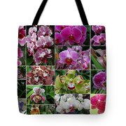 Orchid Collage 1 Tote Bag