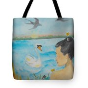 Orchid Flower Love Tote Bag