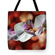 Orchid Flower Photographic Art Tote Bag