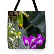 Orchid In Bloom Tote Bag