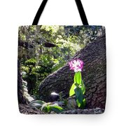 Orchid In Tree 2 Tote Bag